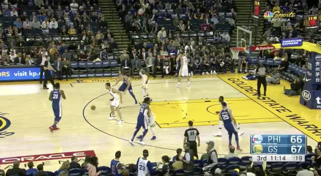 Watch and share Ben Simmons Draymond Defence (2) GIFs by Ben Mallis on Gfycat