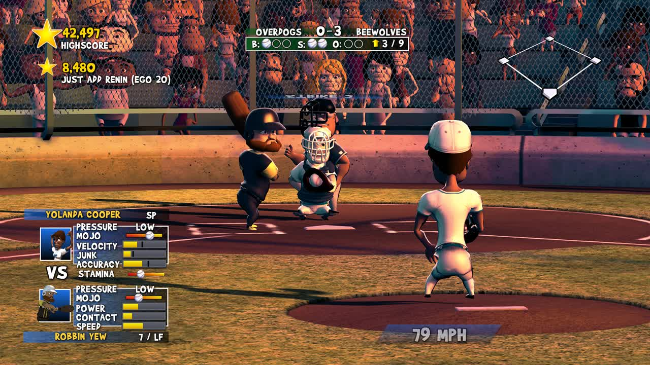 the joy of making pitchers cry in super mega baseball rock