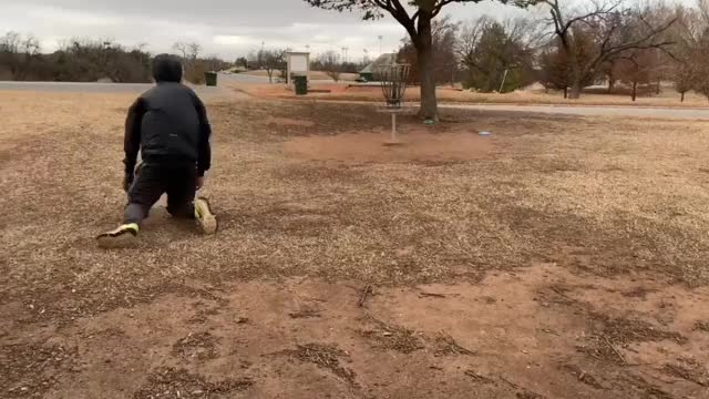 Watch Windy Disc Golf Day in Oklahoma GIF on Gfycat. Discover more Tanner Burnett GIFs on Gfycat