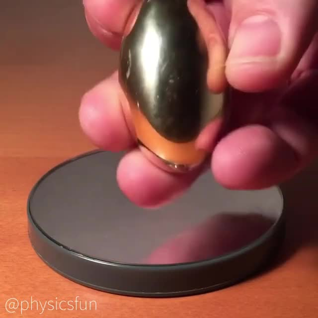 Watch Video by physicsfun GIF on Gfycat. Discover more oddlysatisfying, physicsgifs GIFs on Gfycat