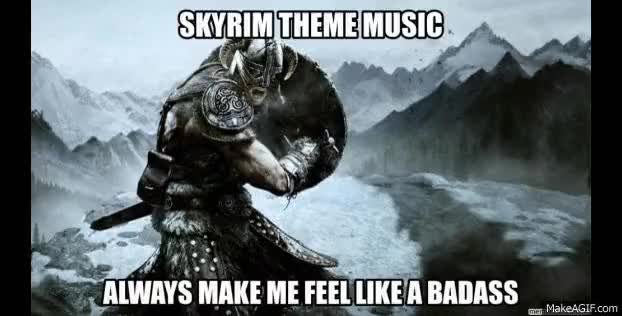 Watch and share Skyrim Memes GIFs on Gfycat