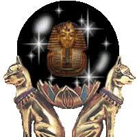 Watch and share Egypt Crystal Ball Bast Bastet King Tut Tutankhamun Tutankhamen Fortune Teller Telling Egyptian Icon Icons Emoticon Emoticons Animated Anima animated stickers on Gfycat