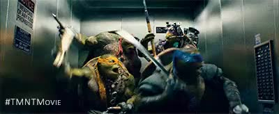 Watch and share Tmnt Movie GIFs and Donatello GIFs on Gfycat
