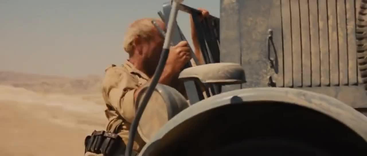 transportation, truck, trucks, Indiana Jones Truck Chase GIFs
