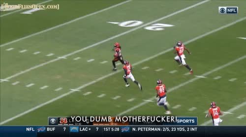 Watch and share Cincinatti Bengals GIFs and Door Flies Open GIFs by Unsurprised on Gfycat