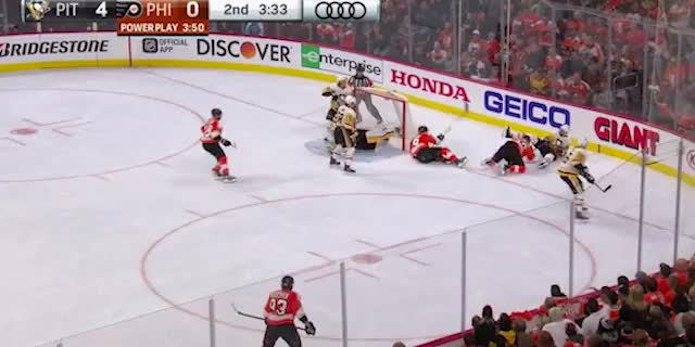 Watch hagelin backhand clear GIF by DK Pittsburgh Sports (@dkpghsports) on Gfycat. Discover more related GIFs on Gfycat