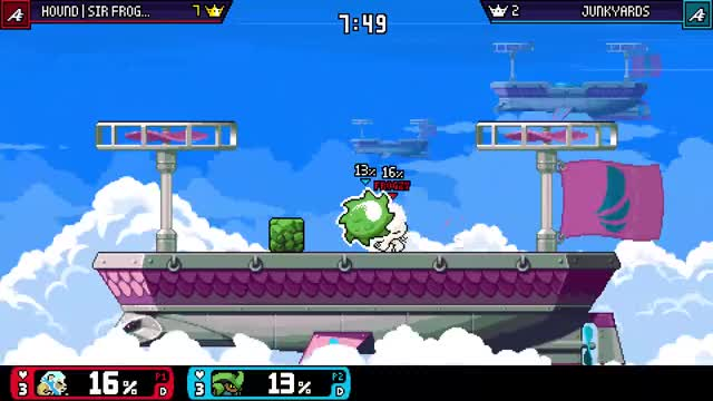 Watch Edge Guard GIF by Hound | Sir FROGZY (@sirfrogzy) on Gfycat. Discover more Rivals GIFs on Gfycat