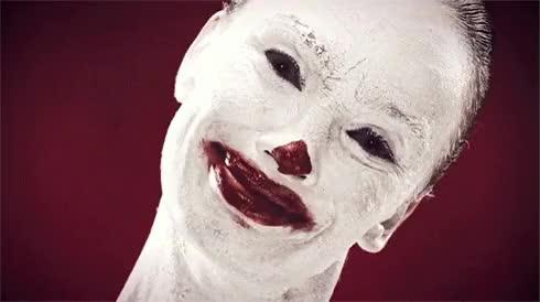 Watch and share Can't Sleep, Clown'll Eat Me : Creepy_gif GIFs on Gfycat