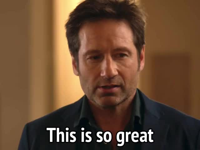 Watch and share David Duchovny GIFs and Hank Moody GIFs by MikeyMo on Gfycat