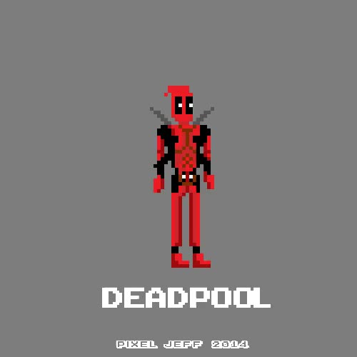 Watch Deadpool Action GIF on Gfycat. Discover more 8-bit, 8bit animation, 8bit art, deadpool, marvel, pixel animation, pixel art GIFs on Gfycat