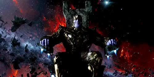Watch and share Thanos The Mad Titan GIFs on Gfycat