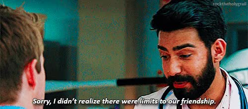 Watch and share Rahul Kohli GIFs on Gfycat