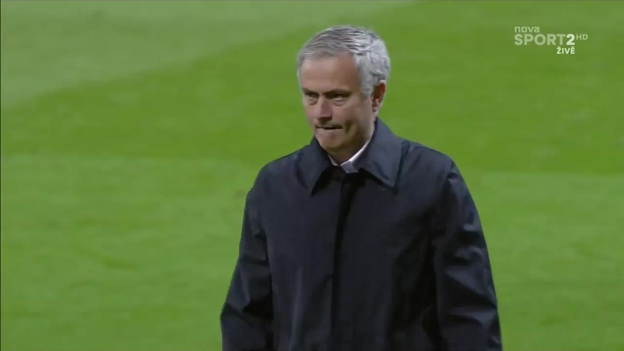 mourinhogifs, reddevils, GIF Request: Mourinho apologizing to the fans with a hand gesture after the match. (reddit) GIFs