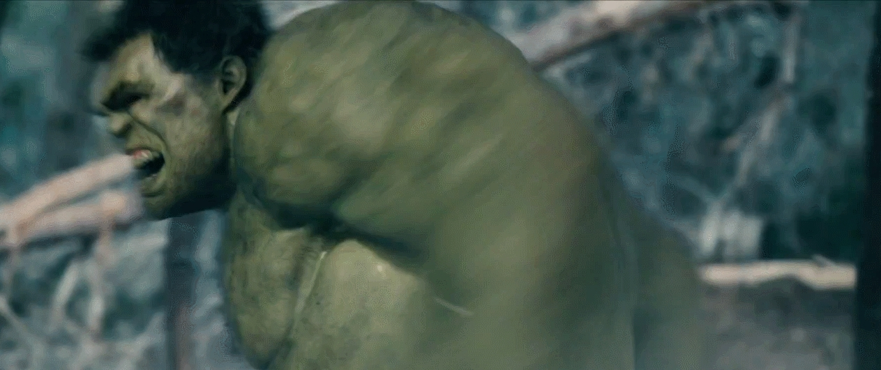 marvelstudios, Comparison of hulk in Age of Ultron and The Avengers (reddit) GIFs