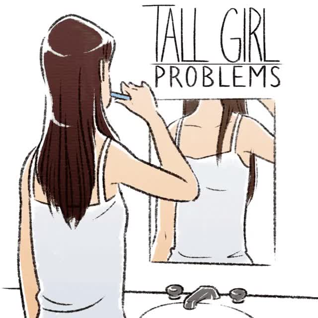 Watch tall girl problems GIF on Gfycat. Discover more related GIFs on Gfycat