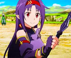 Watch Yuuki GIF on Gfycat. Discover more 1k, mother's rosario, saogfx, sword art online, sword art online II GIFs on Gfycat