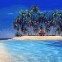 Watch and share Tropical Beach GIFs on Gfycat