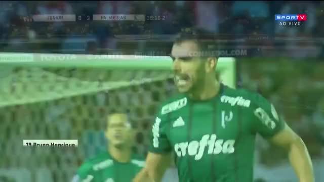 Watch and share Junior Barranquilla 0 X 3 Palmeiras - Melhores Momentos (HD) Libertadores 01/03/2018 GIFs on Gfycat