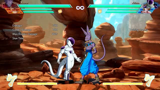 Watch Beerus Combo 2 GIF by @jedmeister on Gfycat. Discover more related GIFs on Gfycat