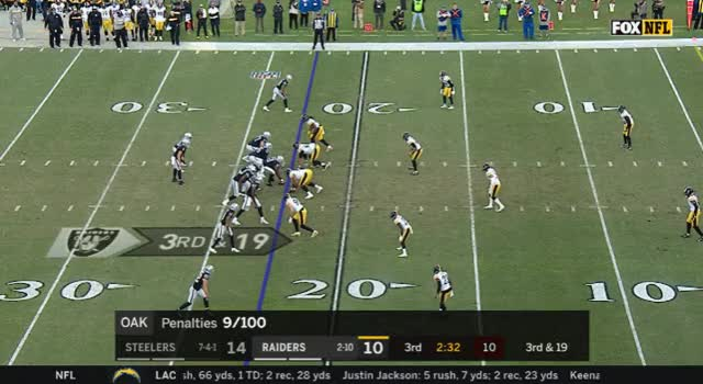 Watch and share Oakland Raiders GIFs and Football GIFs by Rich Madrid on Gfycat