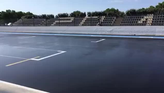 Lando Norris - 140 laps of wet running in the bright sunshine ☀️🏖 #F1Testing