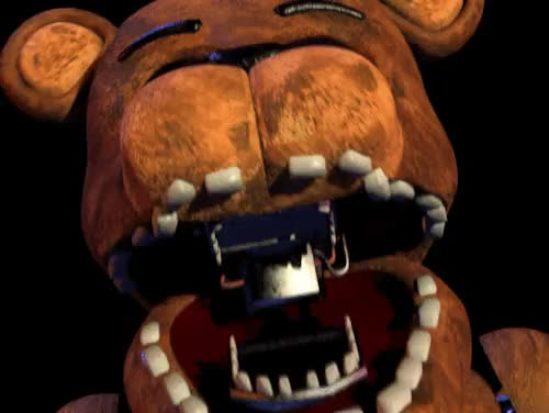 Watch and share Golden Freddy GIFs and Tw Jumpscare GIFs on Gfycat