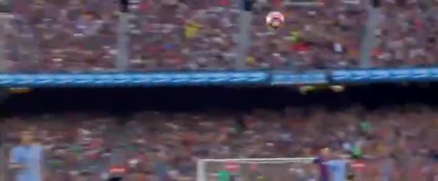 luis suarez goal - barcelona vs sampdoria 1-0, luis suarez goal - barcelona vs sampdoria 1-0 (gamper cup), luis suarez goal - barcelona vs sampdoria 1-0 gamper cup 201, Luis Suarez Goal - Barcelona vs Sampdoria 1-0 (Gamper Cup) 2016 HD GIFs