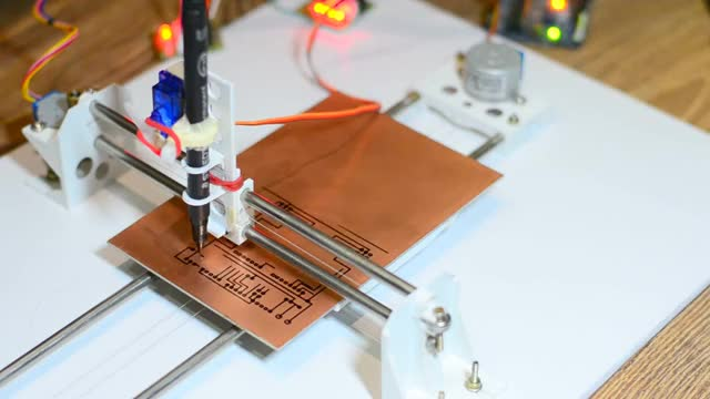 Diy pcb ink plotter using arduino and grbl cnc find