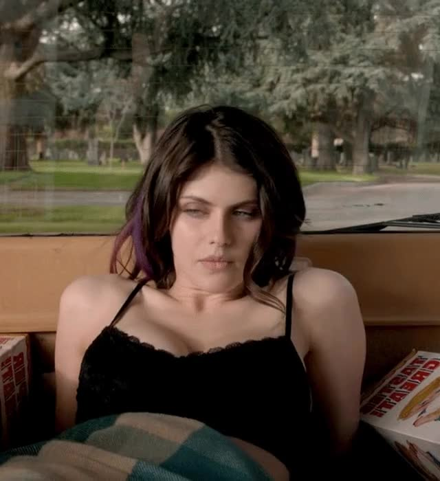 Watch and share Alexandra Daddario GIFs by shapesus on Gfycat