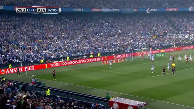 Watch Bekerfinale 2014: PEC Zwolle - Ajax GIF on Gfycat. Discover more 2013–14 KNVB Cup, AFC Ajax (Football Team), Ajax, Ajax Amsterdam, Ajax TV, Bekerfinale, Football (Interest), KNVB Cup, PEC Zwolle (Football Team), Samenvatting GIFs on Gfycat