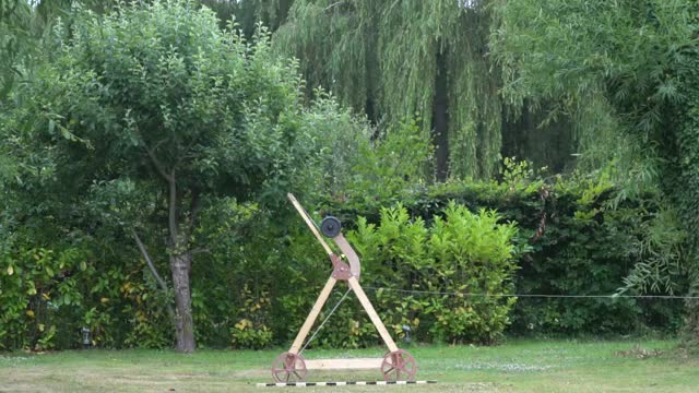 Watch and share Trebuchet Launcher GIFs and Projectile GIFs by RD Database on Gfycat