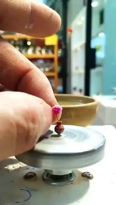 Watch and share Making A Micro Pot GIFs by Abdulsamet Tepe on Gfycat