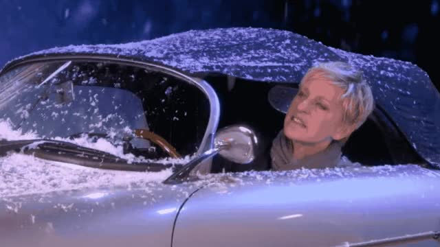 Watch this car GIF by GIF Queen (@ioanna) on Gfycat. Discover more bieber, cabrio, car, ellen, ellen degeneres, fight, funny, get, justin, mistletoe, of, out, show, snow, snowball, snowfight, the, throw, way, yell GIFs on Gfycat