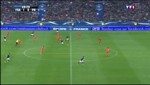 Watch and share Blaise Matuidi. France - Netherlands. 05.03.2014 GIFs by fatalali on Gfycat