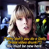 Watch and share Grace Helbig GIFs and Daily Grace GIFs on Gfycat