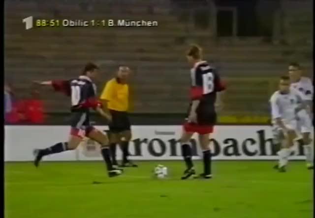 Watch and share MATTHAUS - Bayern Vs Obilic, 1998/99 GIFs on Gfycat