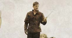 Watch and share Jaime Lannister GIFs and Sword GIFs on Gfycat