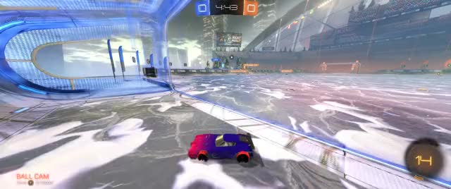 Watch and share Snowday Wall 5050 Whiff To Long Pass Goal GIFs on Gfycat