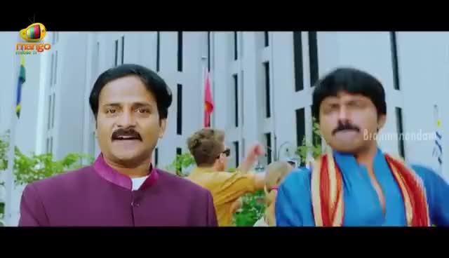 Watch and share Brahmanandam Comedy Scenes - Old Brahmi's Wedding With Young Meera Chopra - Nagarjuna, Nayantara GIFs on Gfycat