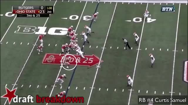 Watch and share Curtis Samuel Vs Rutgers (2016) GIFs on Gfycat