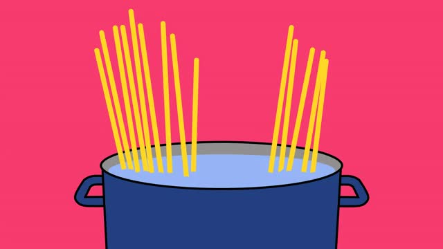Watch and share Pasta-boiling-pot-header GIFs by Healthline on Gfycat