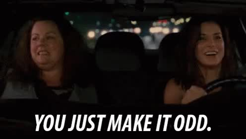 Watch You Just Make It Odd. GIF on Gfycat. Discover more melissa mccarthy GIFs on Gfycat