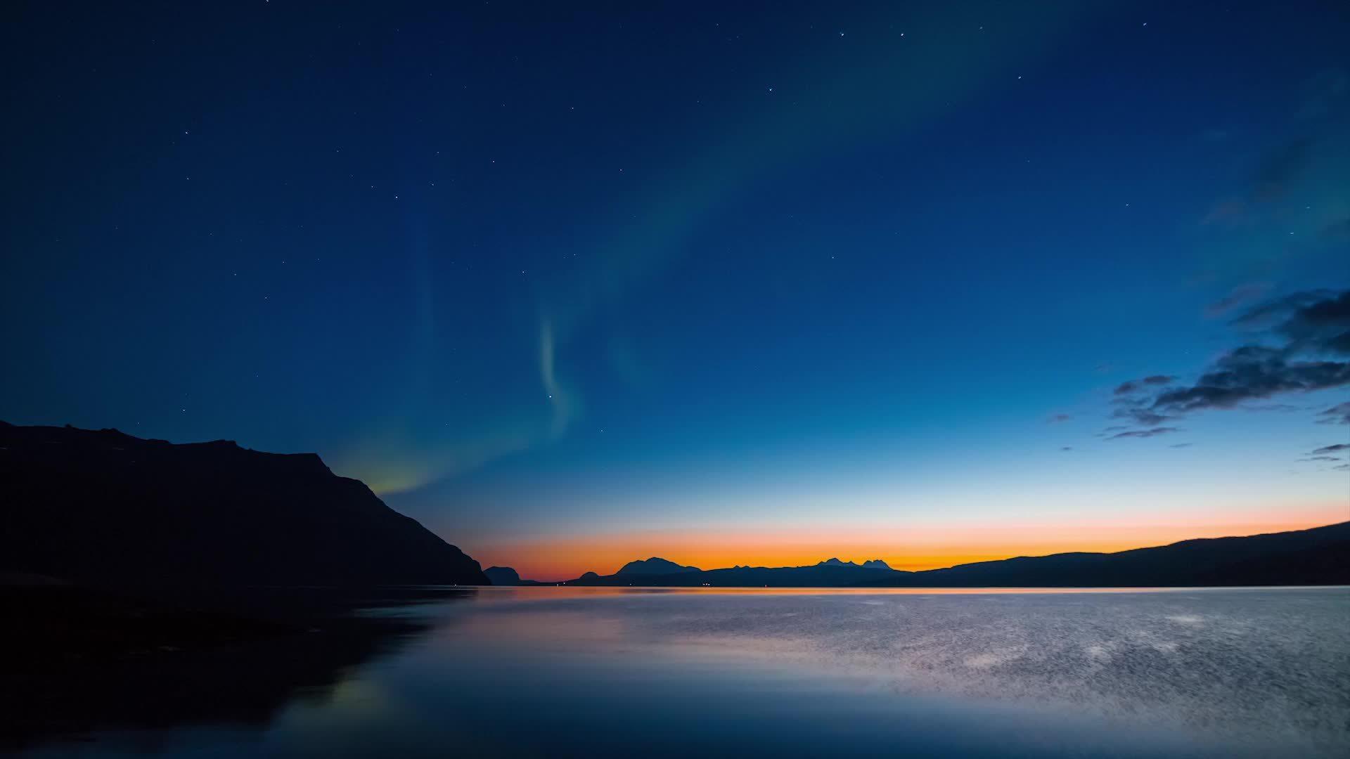 WeatherGifs, weathergifs, Northern lights in Northern Norway GIFs