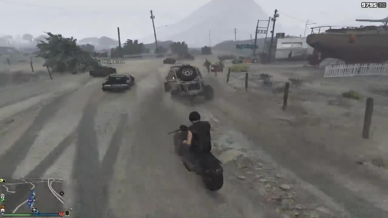 GTA Online: Max Max Convoy Cruise GIFs