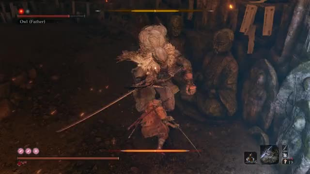 Watch and share Sekiro GIFs and Owl GIFs by queckquack on Gfycat