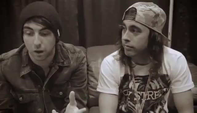Watch cries GIF on Gfycat. Discover more alex gaskarth, all time low, pierce the veil, vic fuentes GIFs on Gfycat
