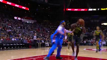 Watch and share John Collins — Atlanta Hawks GIFs by Off-Hand on Gfycat