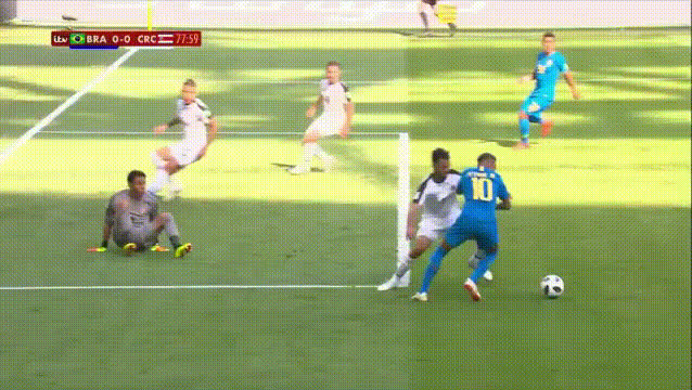 Penalty or not BRACRC WorldCup GIFs