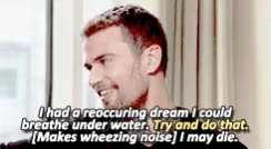 Watch Theo James + Interviews (2) GIF on Gfycat. Discover more Shailene Woodley, Theo, Theo James, Theoedit, allegiant, divergent, divergent cast, four, four eaton, fourtris, insurgent, theo james interviews, theodore peter james kinnaird taptiklis, tobias eaton GIFs on Gfycat