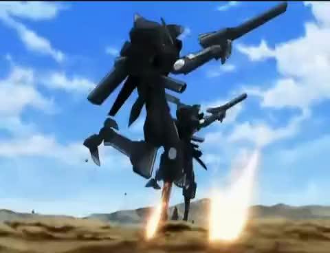 Gundam 00, Gundam Exia GIFs